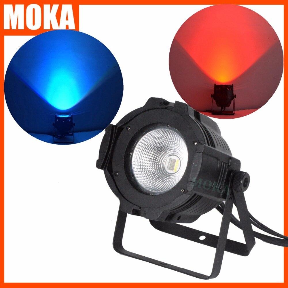 100W COB LED Par Light DMX Theater Spotlight RGBW 4in1 LED Stage Lighting Projector High Bright