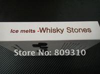 виски камни, 9 шт. / комплект с нежным коробка + бархат мешок виски рок камень куб камень