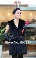 новый женские из синтетических меховой стоит куртка Gel Gel Gel s / м / L / хl черный не имеют пос