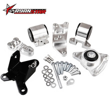 RYANSTAR - New 70A Aluminum K series Engine Swap Mount Kit For HONDA CIVIC SI 02-06 ACURA RSX MOTOR ENGINE MOUNTS K20 DC5 EP3(China)