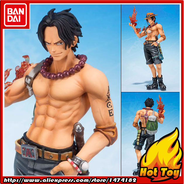 100% Original BANDAI Tamashii Nations Figuarts ZERO Action Figure - Portgas D. Ace -5th Anniversary Edition- from ONE PIECE 100% original bandai tamashii nations s h figuarts shf action figure ace from one piece