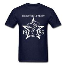 Crewneck Men's Sisters of Mercy shirt T-Shirt quote text kawaii T-Shirt  Adult Short Sleeve graith