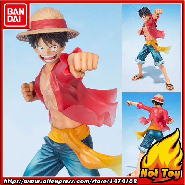 100% Original BANDAI Tamashii Nations Figuarts ZERO Action Figure -Monkey D. Luffy -5th Anniversary Edition- from ONE PIECE 100% original bandai tamashii nations s h figuarts shf action figure ace from one piece