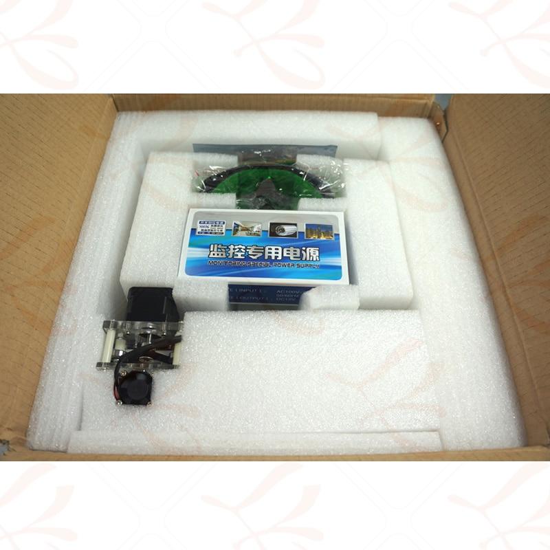 500MW Desktop DIY Violet LY 2017 mini Laser Engraver Picture CNC Printer 20*17CM - 5