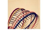 бесплатная доставка ~ мода ручной работы плетение з волн узкие ободки, занавес гребень волосы ювелирных изделий, 5 цветов на выбор