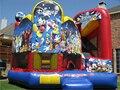 Популярные Дети Прыжки Замок Надувные Слайд Отказов Дом для Площадка/Открытая игровая площадка для детей