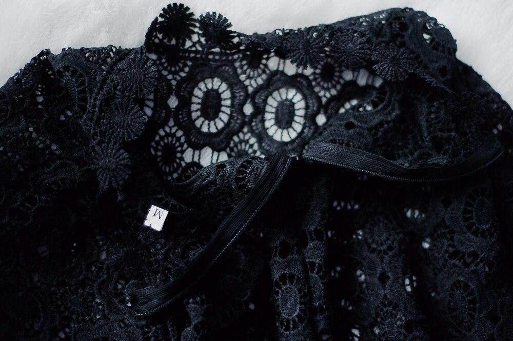Ещё одна блузка SP, но уже в черном цвете