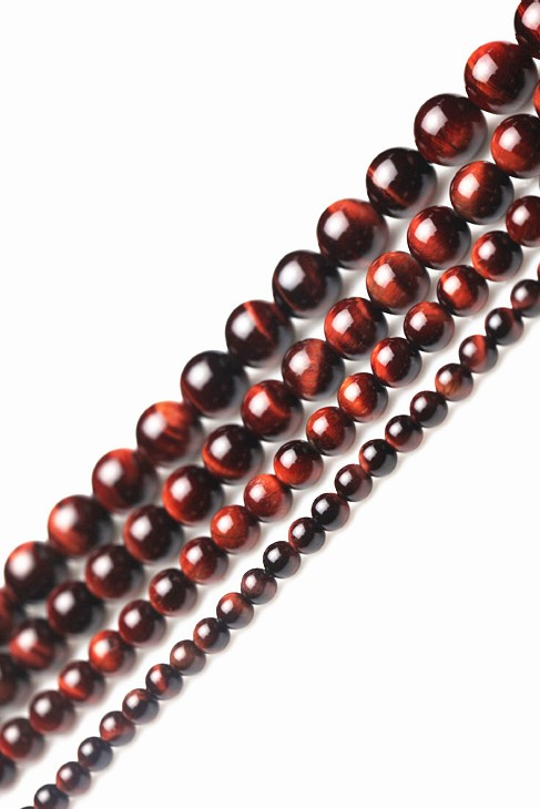 DIY ювелирные изделия 12 мм красный тигр природный кристалл натуральный кристалл полуфабрикаты распродажа браслетов ювелирные изделия аксессуары