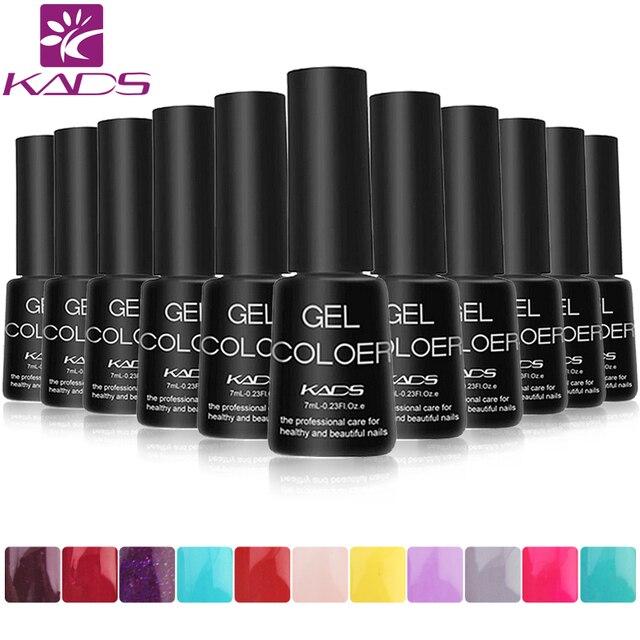 Kads гель для ногтей .лак для ногтей, жидкость для снятия лака, бесцветная гель-основа и верхний слой большой выбор экспресс DIY безвредный четыре сезона гламурный цвет