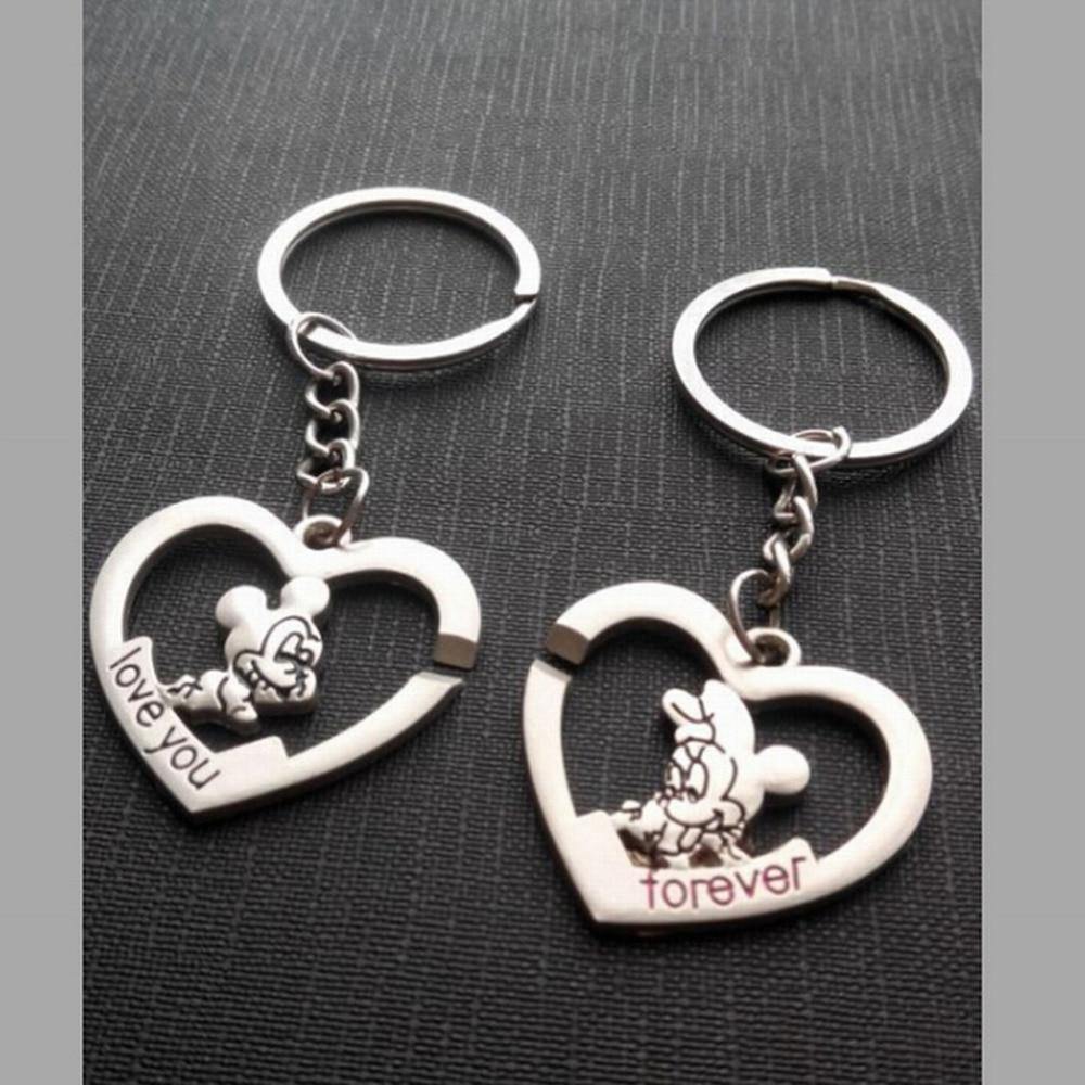 Fashion Gift Buckle Wedding Gifts Key Chain Love 0154