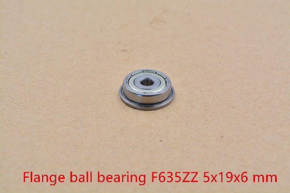 5 мм подшипник 635ZZ F635ZZ 5 мм x 19 мм x 6 мм фланцевый шариковый подшипник глубокая канавка игрушка с подшипниками автомобильный подшипник 1 шт.