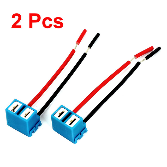 X Autohaux Car Auto Led Wire Headlight Harness Connector Extension