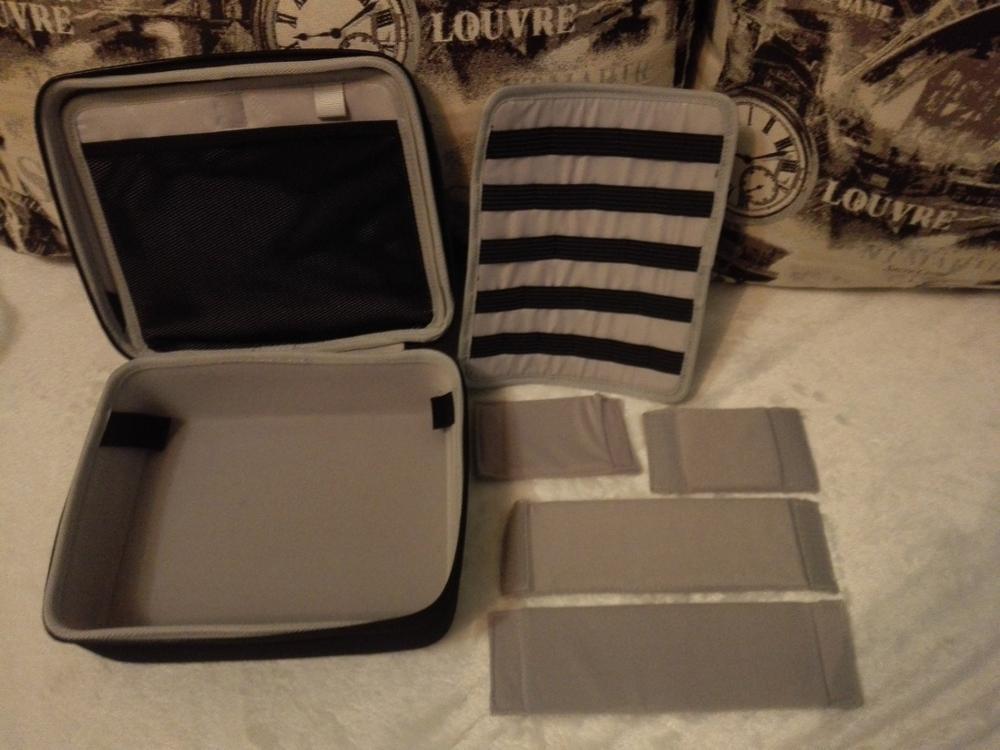 Bubm Gopro Camera Bag Hard Case Charter Receiving Bag