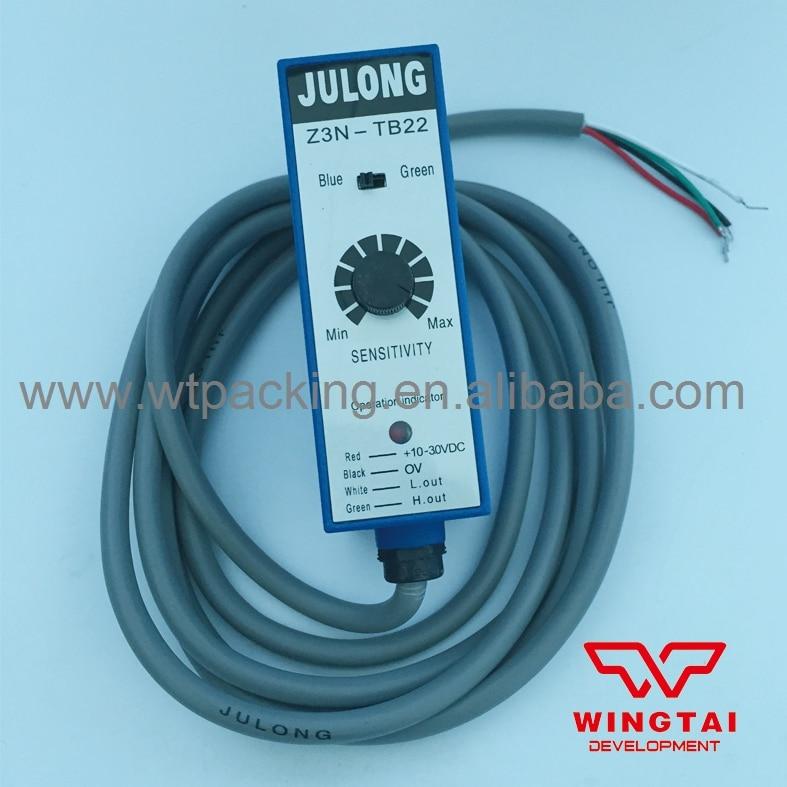 ФОТО Hot Sale Julong Z3N-TB22 Mark Photoelectric Sensor