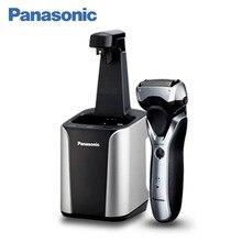 Panasonic ES-RT87-S520 Электробритва, чистое бритье, предварительное бритье и подравнивание щетины, бреющая система с тремя лезвиями, выдвигающийся триммер, подвижная бреющая головка, сухое и влажное бритье