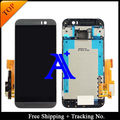 Free Shipping + Tracking No. 100% tested Original For HTC One M9 LCD Screen Digitizer Assembly With Frame - Black/Silver/Gold