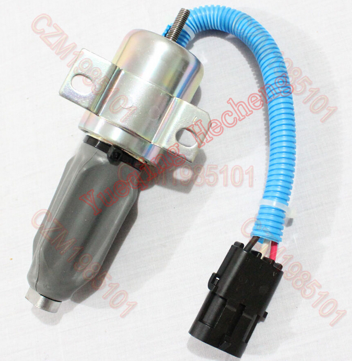 цена Stop Solenoid 332/J5060 24V Fit For JS130 Stopper Motor