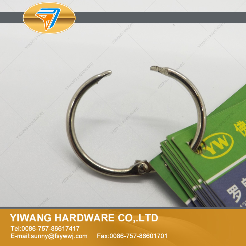 Nickel Book Binding Ring High Quality Size