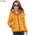 1PC Hooded Parkas For Women Winter Jacket Women Thick Cotton Padded Coat Jaqueta Feminina Abrigos Mujer ZZ3420