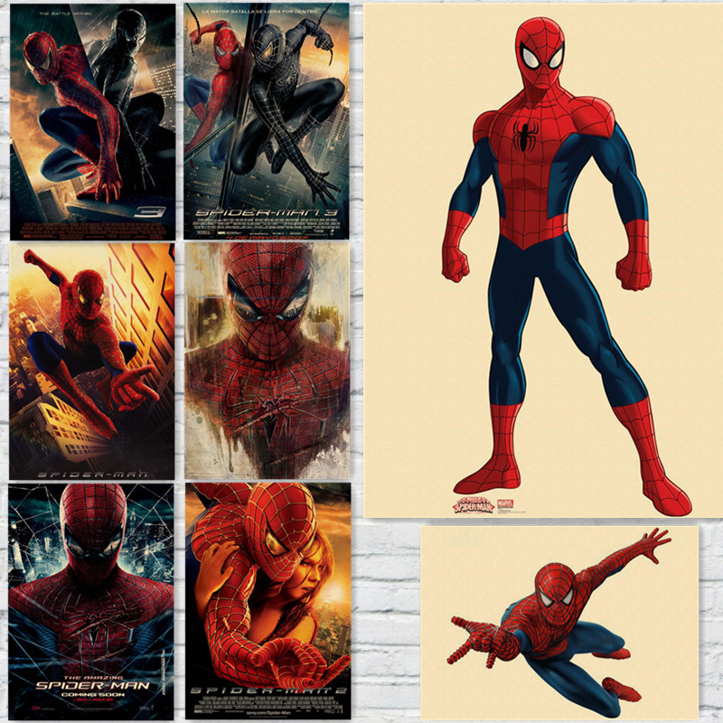 Online Buy Wholesale poster vintage spiderman from China poster ...