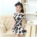 Vestidos para niñas vestido de niña verano marca muchachas del niño vestido de la princesa fiesta de disfraces de Halloween