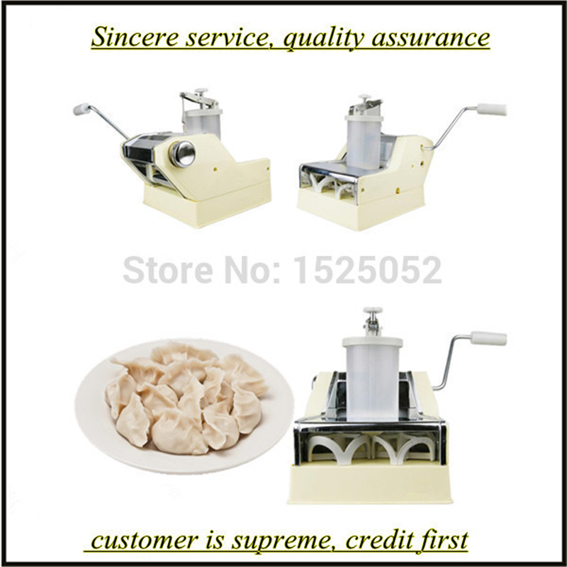 hand dumpling machine China Jiaozi Maker Free shipping to Asia household manual dumpling maker machine hand cranked jiaozi pelmeni machine