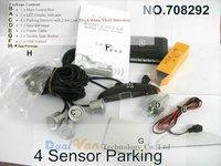 4 система датчики 12 в из светодиодов дисплей индикатор парковка автомобилей brat радар комплект