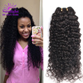 Peruvian Curly Virgin Hair Cheap Peruvian Virgin Hair 4 Bundles Unprocessed Peruvian Deep Wave Bundles Remy Human Hair Weave