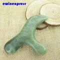 Природный джейд ролика слом пластины массажер ног точки акупунктуры массаж ног уход терапевтический инструмент