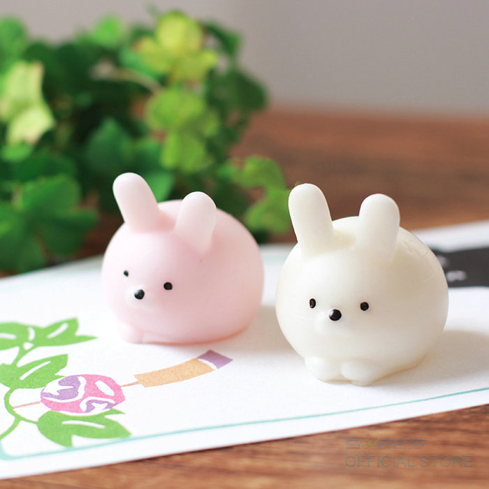 Squishy Bunny : 1 PCS Cute Mini Rabbit Mochi Squishy Bunny Phone Straps Slow Rising Squeeze Stretchy Charms ...