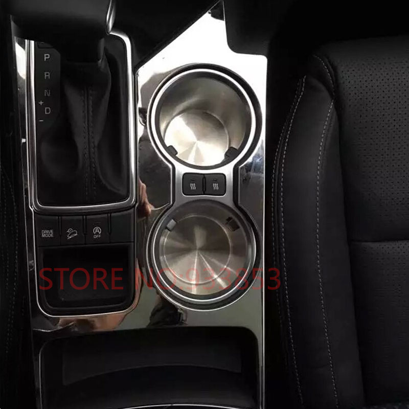 car stainless steel interior water cup holder cover at panel decoration cover trim for lhd kia. Black Bedroom Furniture Sets. Home Design Ideas