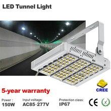 Светодиодная прожекторная лампа для бензиновой станции, 150 Вт, сертифицированная CE и Rohs, IP65, CREE чип с драйвером meanwell, гарантия 5 лет