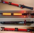 Kissen Star Wars Lightsaber with Light Sound Led Saber Telescopic Star Wars laser Sword Toy Weapons Action Figure Kids Toys
