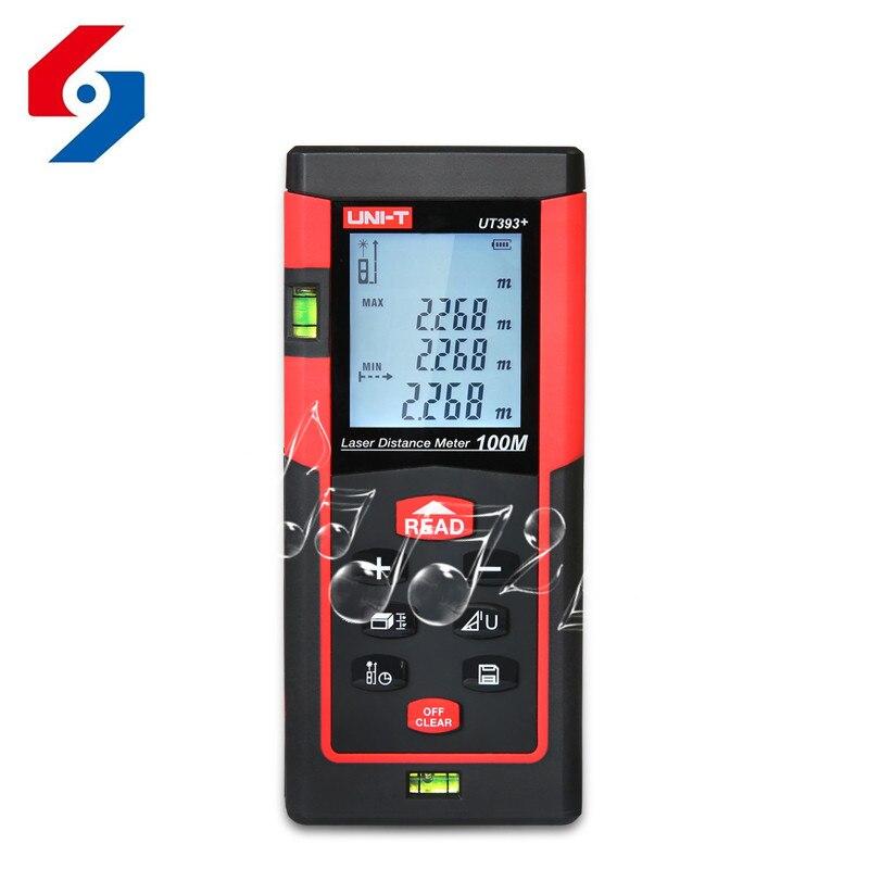 100 m Hand held Laser Rangefinder Can Test Area/Volume/Angle Digital Laser Measure The Distance Tool Lazer Metreler