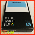 Impossible Project Color Film for Polaroid 600 636 2000 Type Camera Instant White Frames Edition with Free Gift