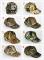 10 pieces/lot Military Tactical hunting cap Outdoor Camouflage Hunting Hat Fishing hiking cap bionic cap Camouflage baseball cap