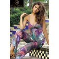 Natural de Seda Das Mulheres do Sexo Feminino 100% Calças Pijamas de Seda do Pijama Definir Boho MM95796-Mia Mia