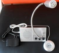 5pcs/lot DHL free shipping free Bank Office Store Station Window Counter Dual Way Interphone Speaker Intercom