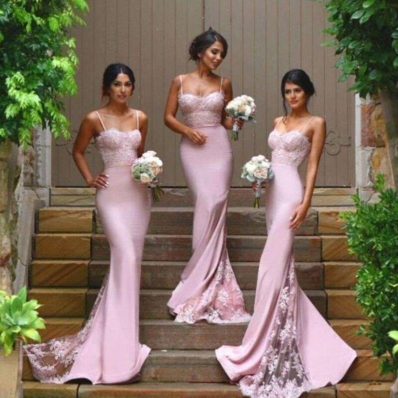 Sa154 cheap 2016 purple spaghetti straps lace long mermaid for Cheap lace mermaid wedding dresses