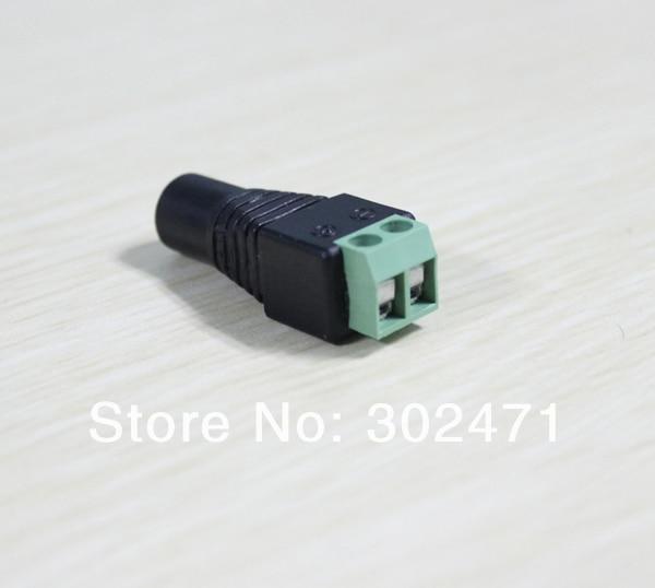 10 шт./лот 5.5/2.1 мм Женский видеонаблюдения UTP Мощность Разъем Кабель-адаптер dc/ac 2, камера видео балун