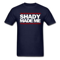 Man Shady Made Me T Shirts Iron Lettersdesigns Tee Shirts For Youth Crew Neck Summer Clothing
