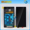1 шт. тестирование Запасные части 5 дюймов экран для Sony для Xperia Z1 L39h жк-дисплей с сенсорным дигитайзер + рамка бесплатная доставка доставка