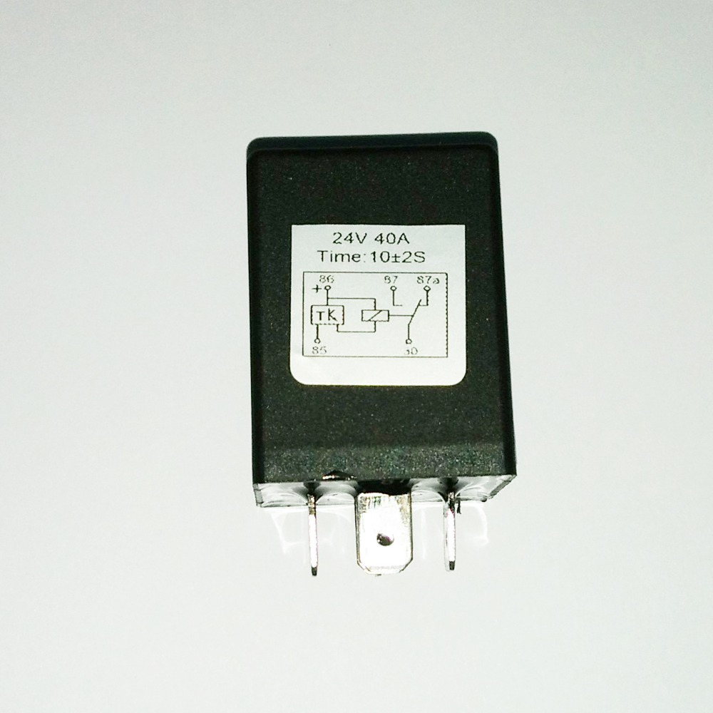 Automotive 12v 5 Pin Time Delay Relay Spdt 10 Second On 4 Terminal Pada 24v Times