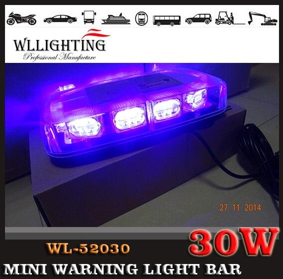 ФОТО Police strobe light 30LED strobe lights Emergency Warning lights led strobe beacon with magnet RED BLUE WHITE AMBER DC12V-24V