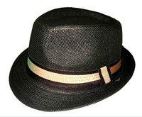 Panama, мягкая толстая шляпа, ручной работы с двумя золото-чем группа