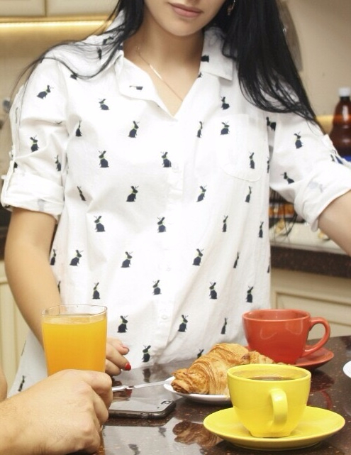 2016 New Spring Summer One-piece Long-sleeve Blouses for Pregnant Women Maternity Clothing