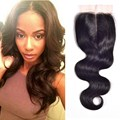 Peruvian Virgin Hair Body Wave Closure Three/Middle/Free Part Lace Closure 7A Human Hair Closure,Peruvian Virgin Hair Closure