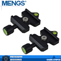 MENGS 2Pcs per pack DC-50N 50mm Camera Quick Release Clamp 1/4'' Mounting Screw For Tripod Ball Head(14120002001)