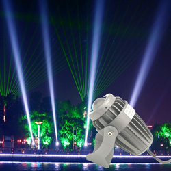 A beam light spotlight led 10w ac85-265 floodlight outdoor waterproof light pillars Exterior laser light construction lighting
