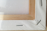 80 * 120 см художник натянутым холстом, безкислотный бесплатно акриловый грунт грунтованный холст, чистый хлопок